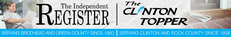 The Independent Register / The Clinton Topper