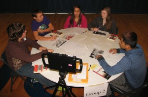 Freshman students participate in 'Collaborative Conversations'