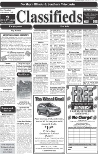 2/10/16 Clinton Classifieds