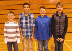 Students compete in Clinton Middle School spelling bee