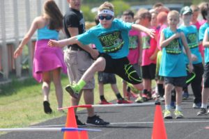 Students take to the track in annual Track and Field Day