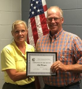 School district names Staff Member of the Month of August: Sally Barrington