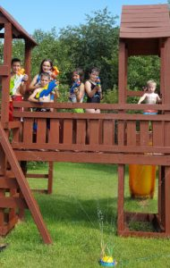 Little Prairie Family Daycare celebrates end of summer.