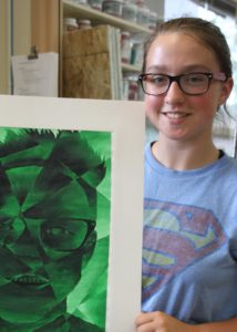 Jashari and Erb featured artists in Rock Valley Conference Traveling Art Show