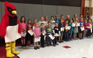"Albrecht Elementary ""Students of the Month"""