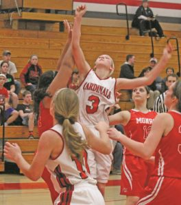 Lady Cards fall to Monroe in season opener