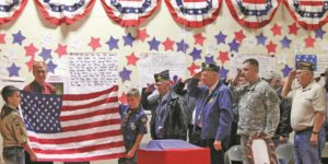 Students honor veterans at annual celebration