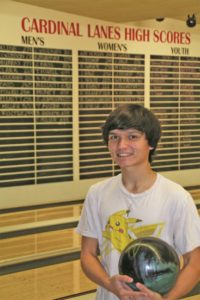 Tristan Hendler bowls perfect game