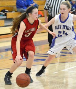 Lady Cardinals beat Evansville, 47-44
