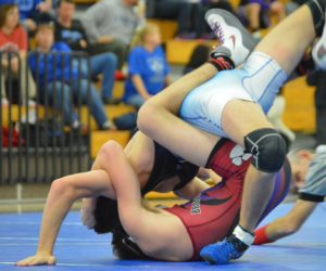 Wrestlers pull one team win and two losses at the Evansville Duals
