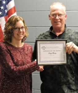 Clinton School District names Employee of the Month