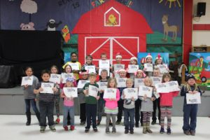 Reading is FARMtastic! Albrecht Elementary students participate in reading motivation program
