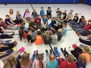 Clinton Elementary second grade 'Rock Your Socks' raised awareness