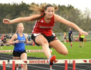 Track team dominates Parkview