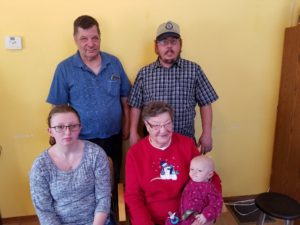 Getting joy out of generations in Brodhead