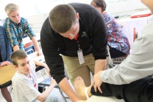 Middle school hosts Career Day