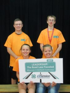 Green County 4-Hers attend conference at UW-Madison