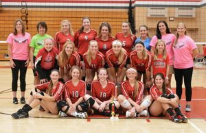 Cardinals volleyball earn second at Saturday Invite