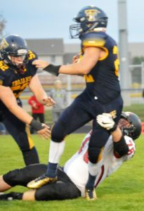 Beloit Turner football drops Brodhead-Juda