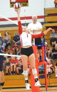 Brodhead volleyball loses heartbreaker to Big Foot