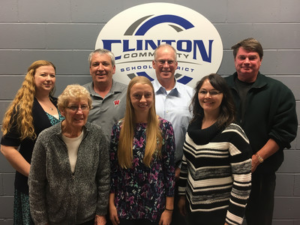 Clinton celebrating Wisconsin School Board Week