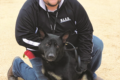 SUBMITTED PHOTO The Independent-Register Officer Brian Bennett and his partner, Arrow, are looking forward to the next step in the K-9 certification process.