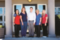 SUBMITTED PHOTO The Independent-Register Brodhead Dental Clinic consists of employees Cristina, Tami, Dr. Branson, Pam, and Mackenzie.