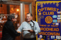 MICHELE BENESH PHOTO The Independent-Register Wayne Dieckhoff presents Rich Vogel, Optimist President, with the Optimist of the Year award.