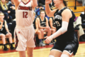 MANDY FIELDS PHOTO The Independent-Register Madisyn Kail adds two for the Lady Cards from the edge of the paint.