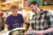 ROBIN DAVIES PHOTO Independent Register Evan Glasgow of Brodhead shown on the right and mentoring a student received the 2019 Denton Award for Graduate Student Excellence in Teaching and Mentoring