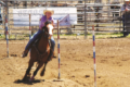 COURTESY PHOTO Independent Register Rayelynn Johnson a sixth grade student at Brodhead Middle School has earned a position on the state/provincial National Junior High rodeo team.