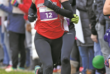 DAVE KUNSTMAN PHOTO The Independent Register Brodhead Cross Country Madelynn McIntyre (Jr) ended her season placing 21st with a time of 19:49.7 in Division 2 at the WI State XC meet in Wisconsin Rapids.
