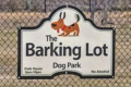 COURTESY PHOTO Independent Register It's doggie play time Alliyah Hoff brought her senior project to fruition when the Brodhead Barking Lot dog park officially opened on 1/1/2020.